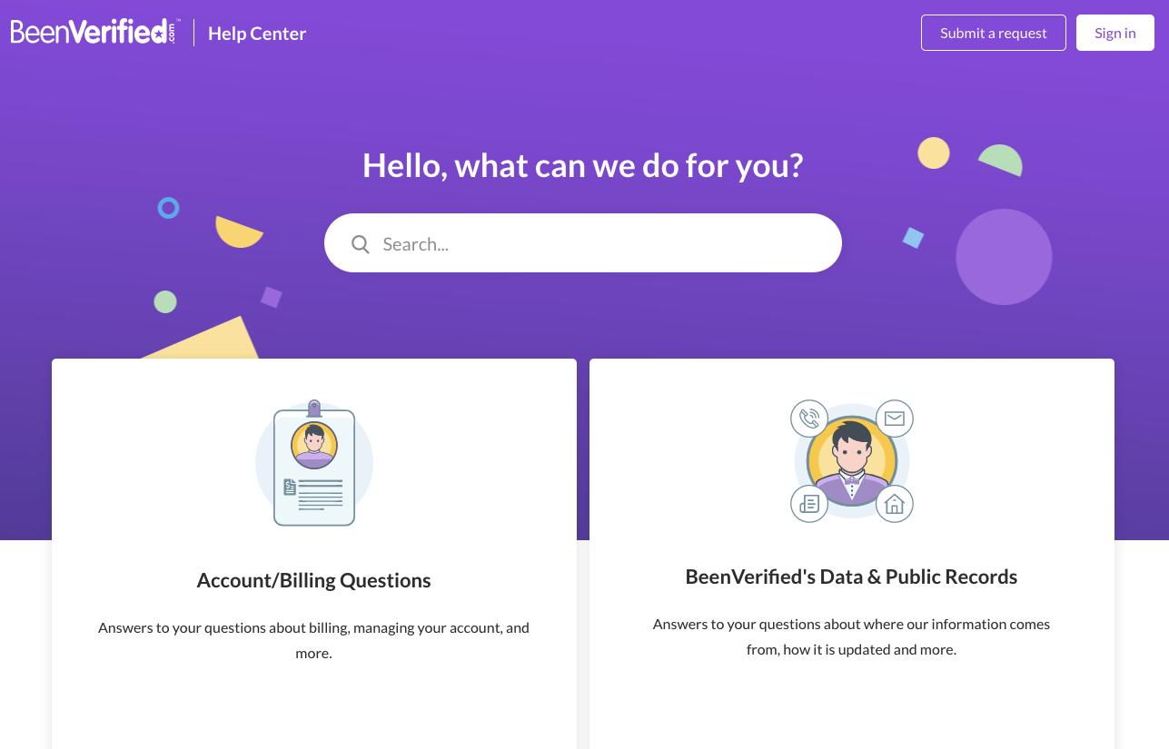 BeenVerified homepage